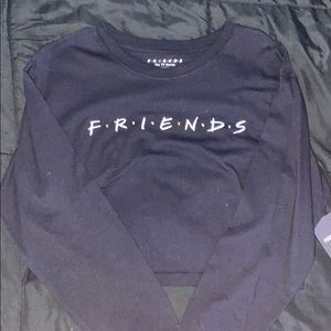"Brand New ""Friends"" Cropped Long Sleeved Shirt"